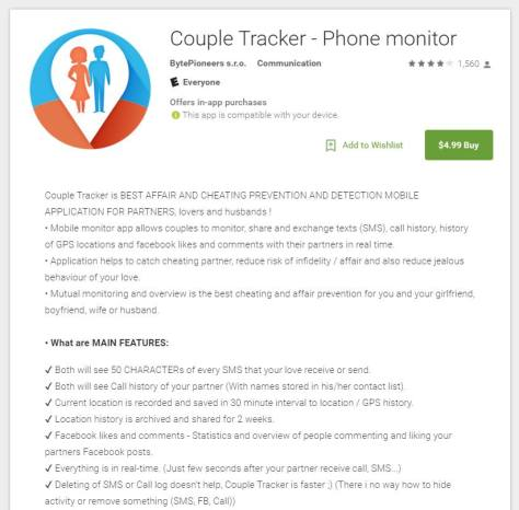 Couple Tracker